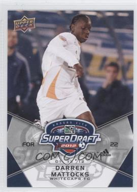 2012 Upper Deck MLS - [Base] #182 - Darren Mattocks