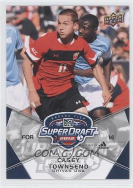 2012 Upper Deck MLS - [Base] #185 - Casey Townsend