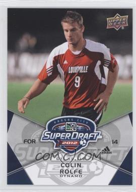 2012 Upper Deck MLS - [Base] #198 - Colin Rolfe