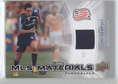 2012 Upper Deck MLS - Materials Throwbacks #TB-CD - Clint Dempsey