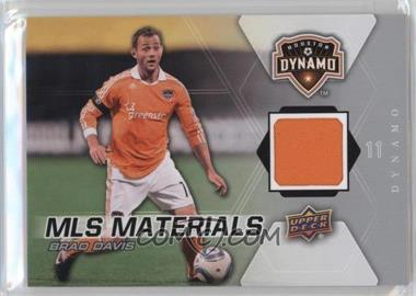 2012 Upper Deck MLS - Materials #M-BD - Brad Davis