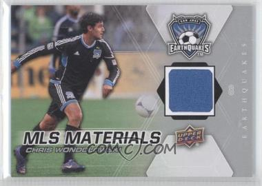 2012 Upper Deck MLS - Materials #M-CW - Chris Wondolowski