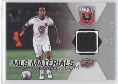 2012 Upper Deck MLS - Materials #M-DD - Dwayne DeRosario