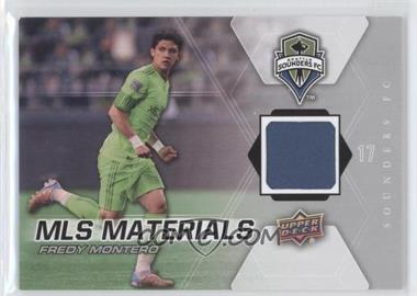 2012 Upper Deck MLS - Materials #M-FM - Fredy Montero