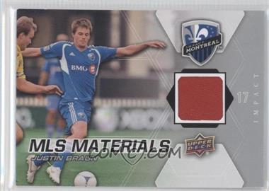 2012 Upper Deck MLS - Materials #M-JB - Justin Braun