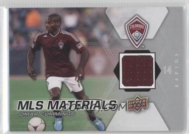 2012 Upper Deck MLS - Materials #M-OC - Omar Cummings