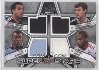 Chris Wondolowski, Dwayne DeRosario, Thierry Henry, Teal Bunbury /50