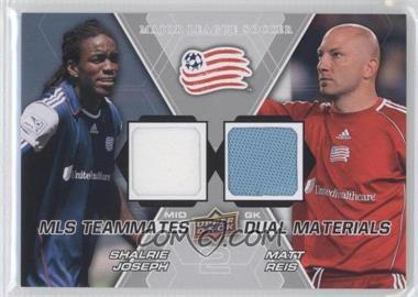 2012 Upper Deck MLS - Teammates Dual Materials #TM-NE1 - Matt Reis, Shalrie Joseph
