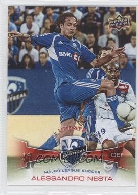 2012 Upper Deck MLS - Update #U10 - Alessandro Nesta