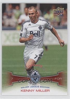 2012 Upper Deck MLS - Update #U11 - Kenny Miller