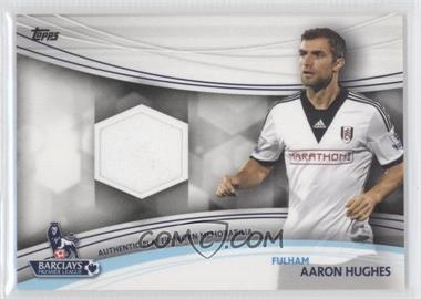 2013 Topps English Premier Gold - Jersey Relics #JR-AH - Aaron Hughes