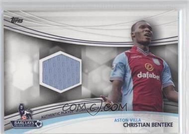2013 Topps English Premier Gold - Jersey Relics #JR-CB - Christian Benteke