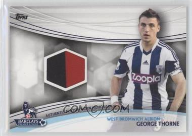 2013 Topps English Premier Gold - Jersey Relics #JR-GT - George Thorne