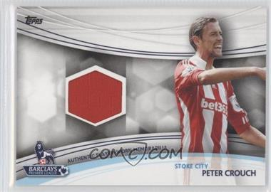 2013 Topps English Premier Gold - Jersey Relics #JR-PC - Peter Crouch