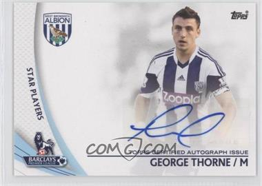 2013 Topps English Premier Gold - Star Players #SP-GT - George Thorne