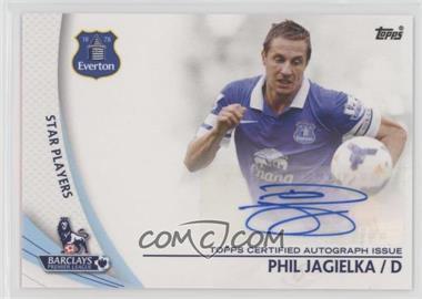 2013 Topps English Premier Gold - Star Players #SP-PJ - Phil Jagielka