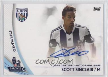 2013 Topps English Premier Gold - Star Players #SP-SS - Scott Sinclair