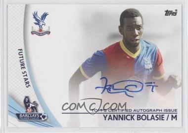 2013 Topps English Premier Gold - Star Players #SP-YB - Yannick Bolasie