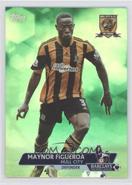 2013 Topps English Premier League - [Base] - Green #136 - Maynor Figueroa /99