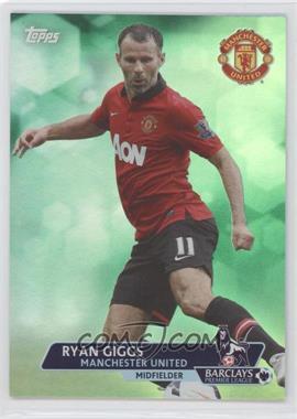 2013 Topps English Premier League - [Base] - Green #152 - Ryan Giggs /99