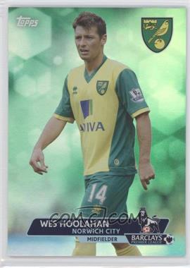 2013 Topps English Premier League - [Base] - Green #63 - Wes Hoolahan /99