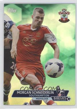 2013 Topps English Premier League - [Base] - Green #67 - Morgan Schneiderlin /99