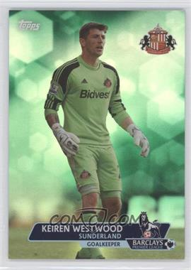 2013 Topps English Premier League - [Base] - Green #79 - Keiren Westwood /99