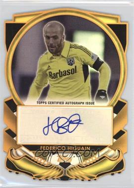 2013 Topps MLS - Golden Boot Die-Cut Autographs #GBA-FH - Frederico Higuain