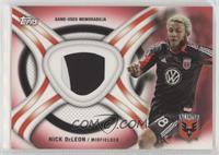 Nick DeLeon #/25