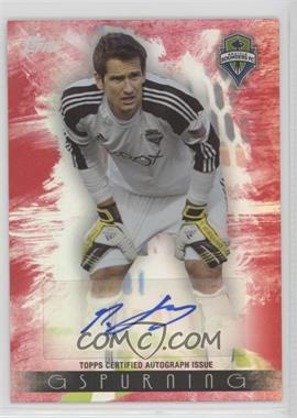 2013 Topps MLS - Maestro Autographs - Red #MA-MG - Michael Gspurning /10