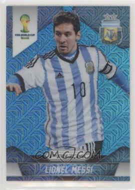 2014 Panini Prizm World Cup - [Base] - 2014 National Convention Blue Pulsar Prizms #12 - Lionel Messi