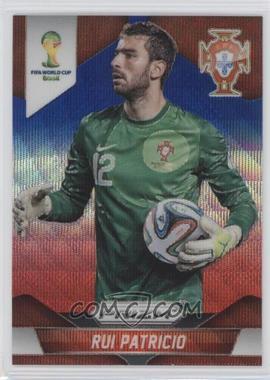 2014 Panini Prizm World Cup - [Base] - Blue & Red Wave Prizms #155 - Rui Patricio
