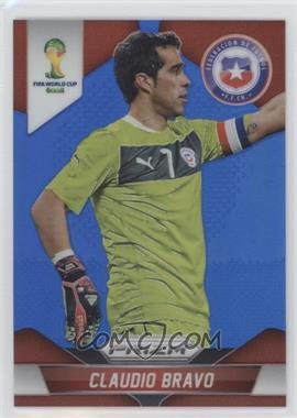 2014 Panini Prizm World Cup - [Base] - Blue Prizms #41 - Claudio Bravo /199
