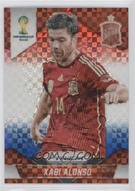 2014 Panini Prizm World Cup - [Base] - Red, White, & Blue Power Plaid Prizms #173 - Xabi Alonso