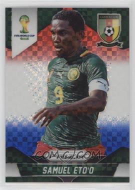 2014 Panini Prizm World Cup - [Base] - Red, White, & Blue Power Plaid Prizms #40 - Samuel Eto'o