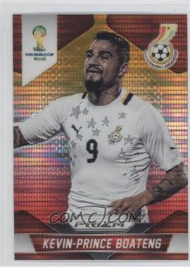 2014 Panini Prizm World Cup - [Base] - Yellow & Red Pulsar Prizms #97 - Kevin-Prince Boateng
