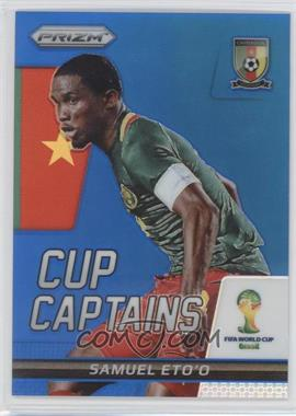 2014 Panini Prizm World Cup - Cup Captains - Blue Prizms #26 - Samuel Eto'o /199