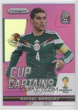 2014 Panini Prizm World Cup - Cup Captains - Purple Prizms #24 - Rafael Marquez /99