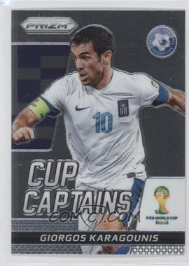2014 Panini Prizm World Cup - Cup Captains #11 - Giorgos Karagounis