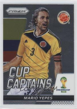 2014 Panini Prizm World Cup - Cup Captains #22 - Mario Yepes