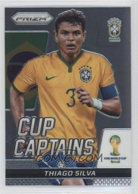 2014 Panini Prizm World Cup - Cup Captains #28 - Thiago Silva