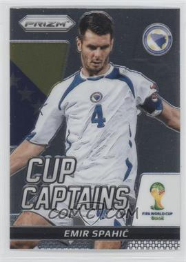 2014 Panini Prizm World Cup - Cup Captains #9 - Emir Spahic