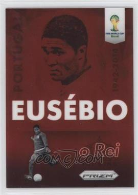 2014 Panini Prizm World Cup - Eusbio Tribute #T-EUS - Eusebio