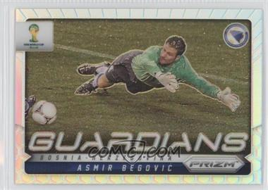 2014 Panini Prizm World Cup - Guardians - Prizms #4 - Asmir Begovic