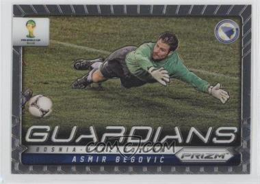 2014 Panini Prizm World Cup - Guardians #4 - Asmir Begovic
