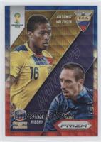 Antonio Valencia, Franck Ribery