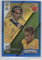 Neymar Jr., Radamel Falcao #/199