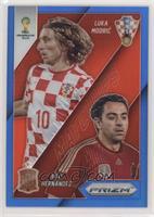 Xavi Hernandez, Luka Modric #/199