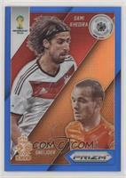 Sami Khedira, Wesley Sneijder #/199