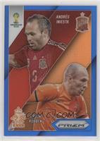 Arjen Robben, Andres Iniesta #/199